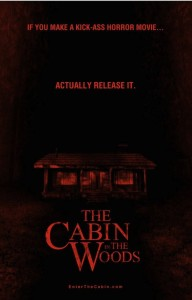 cabin in the woods mock poster