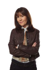Sarah Jane - played by the late Elizabeth Sladen
