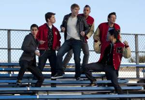 Glee Gets Greasy