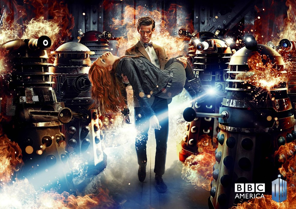 Doctor Who Series 7 Art