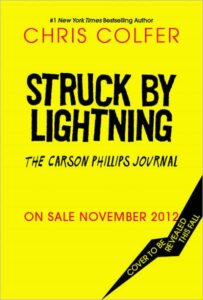 Struck by Lightning The Carson Phillips Journal-- cover