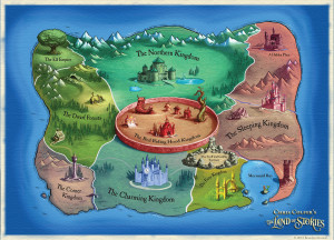 The Land of Stories Map
