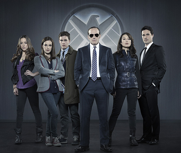 Agents of SHIELD full cast photo