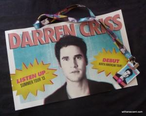 Darren Criss Giveaway #1
