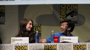Community SDCC13 Brie & Jeong