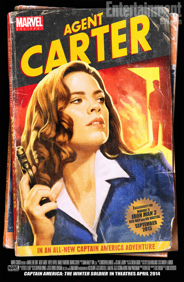 Retro-style poster for Agent Carter
