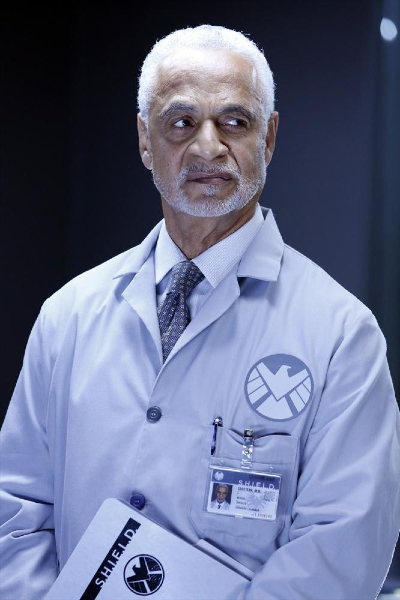 Agents of Shield--Ron Glass as a scientist