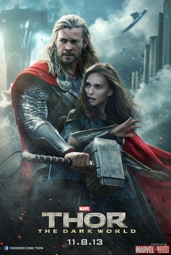 Thor The Dark World--Jane and Thor poster