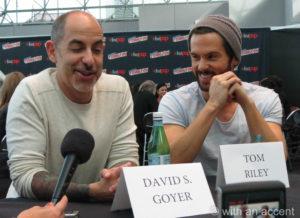 NYCC 2013 - Da Vinci's Demons - Goyer & Riley
