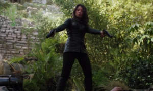 agents of shield, s1 ep02--Melinda May being a badass