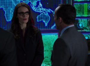 Agents of SHIELD, s1 ep07--Victoria Hand and Coulson
