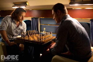 Charles and Erik playing chess