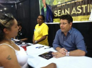 Me and Sean Astin. Photo by Lauren Colyer-Pendas