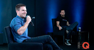Stephen Amell on Nerd HQ