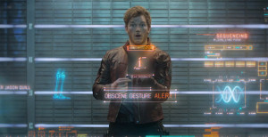 guardians-of-the-galaxy-peter quill making obscene gesture