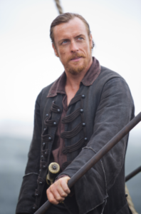 Captain Flint in 'Black Sails'