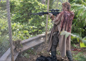 Carol kicking ass