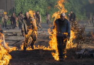 Flaming walkers