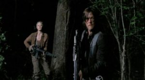 Carol and Daryl, reuinited
