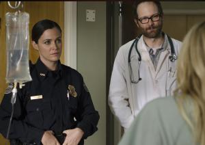 Officer Dawn Lerner and Dr. Edwards
