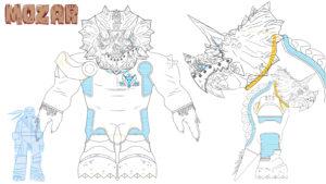Mozar voiced by Michael Dorn