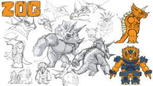 Zog voiced by Lance Henriksen
