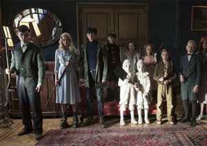 Miss Peregrine's Home for Peculiar Children group