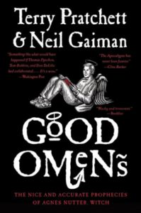 good omens book-cover