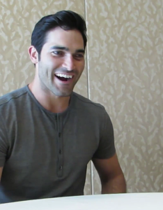 Tyler Hoechlin is as excited for Superman as everyone else