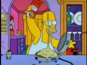 The Simpsons - Homer Simpson in Homer the Heretic