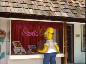 The Simpsons Treehouse of Horror Homer Simpson in 3D