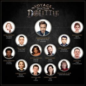 The Voyage of Doctor Dolittle cast