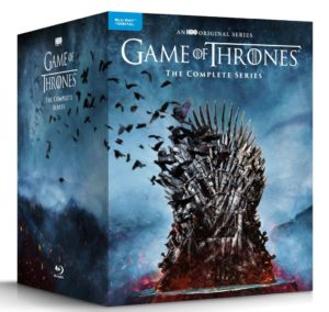Game of Thrones complete boxed set